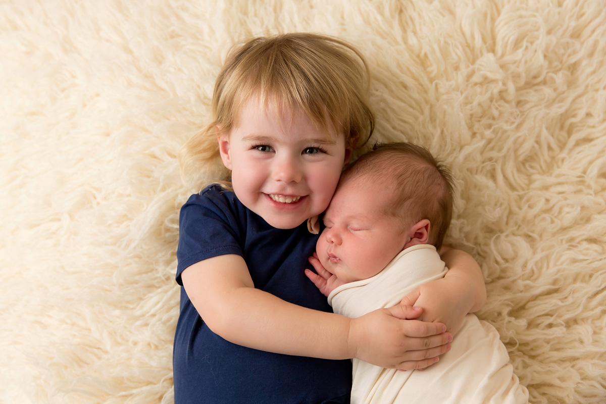 newborn sibling photos brisbane