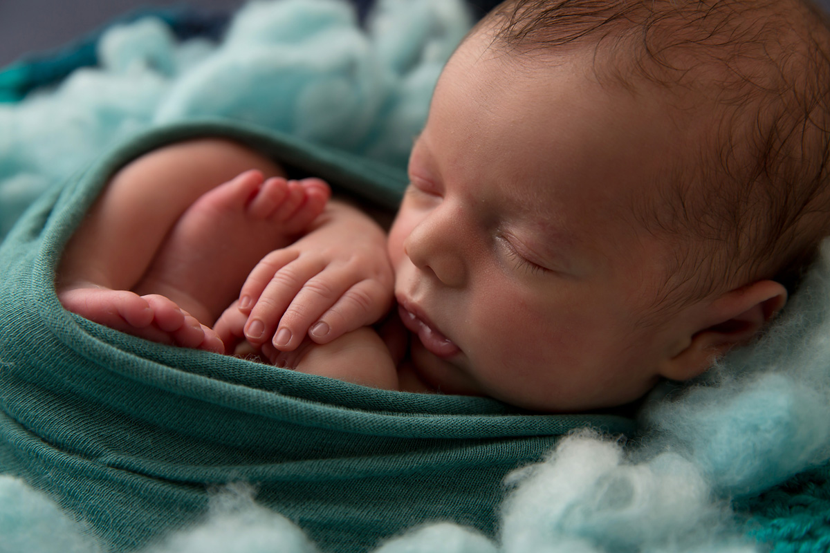 close up baby photo