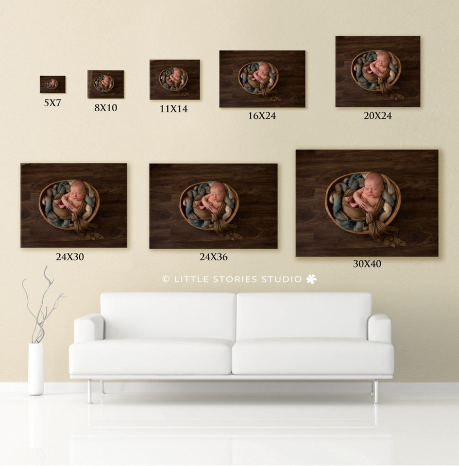 photo print size crop display guide