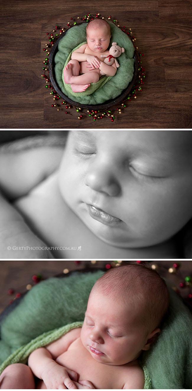Brisbane Christmas Newborn photos