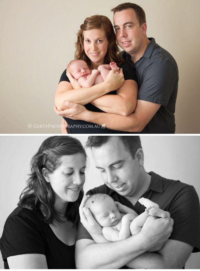 Brisbane family and newborn photography