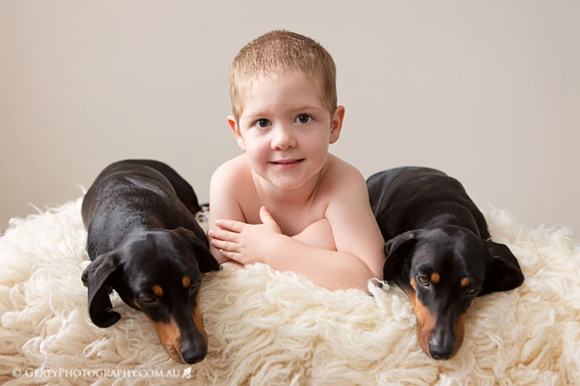 Kids and dogs photography Brisbane