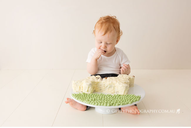 Let them eat cake - Sam turns 1
