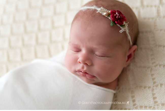 neutral tone newborn photos