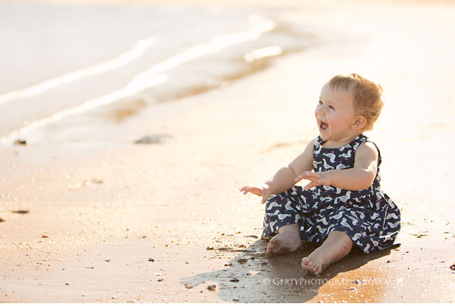 beach baby photos