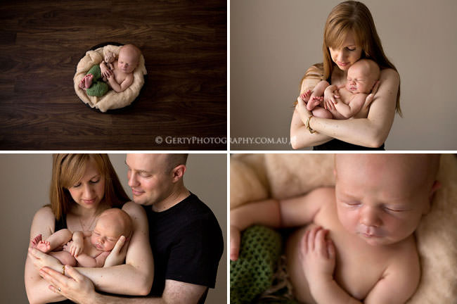 relaxed candid brisbane newborn photographer