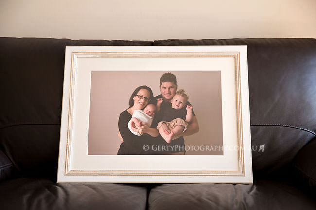 newborn photography custom frame