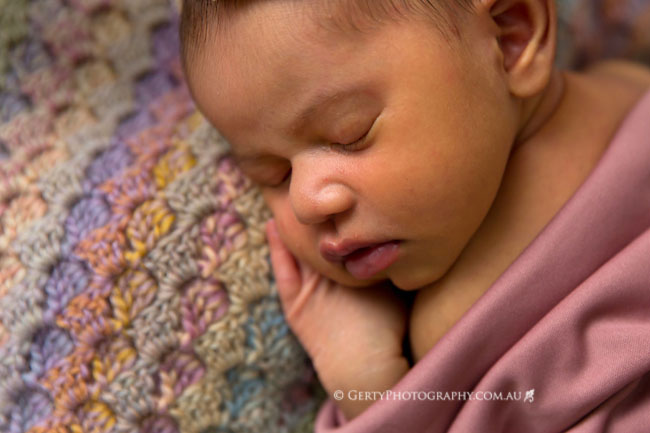 crochet c2c baby photo
