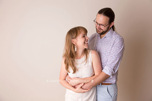studio portrait for parents