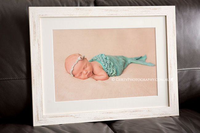 custom framing studio newborn photos