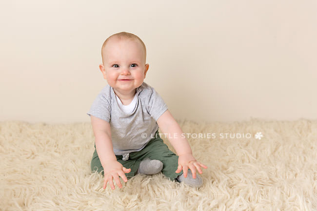 baby studio photos