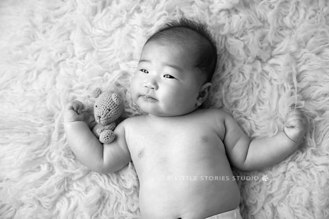 100 days baby photos