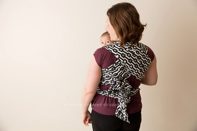 yaro woven wrap baby carrier