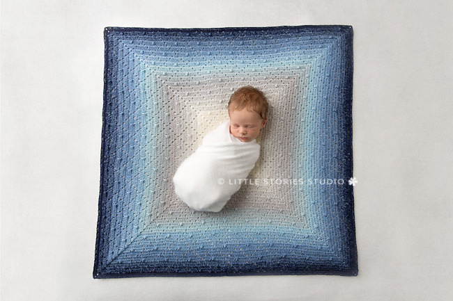 bakewell blanket blueberry bam bam newborn photo