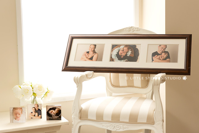 custom framing newborn photos brisbane