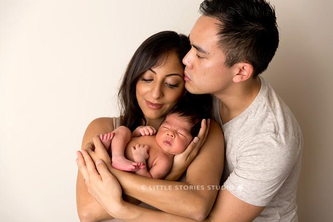 new family first portrait brisbane