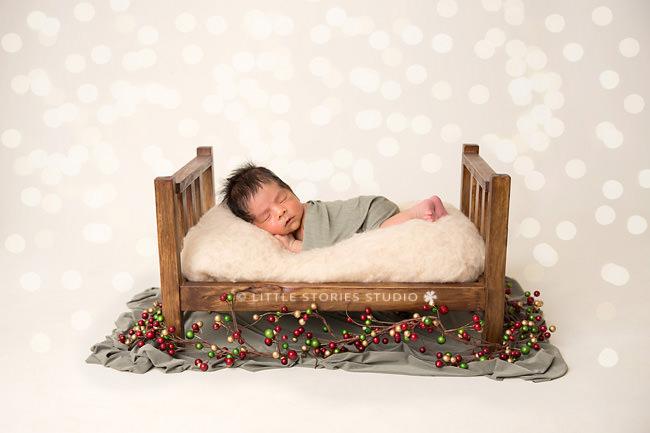 christmas themed newborn photos brisbane southside