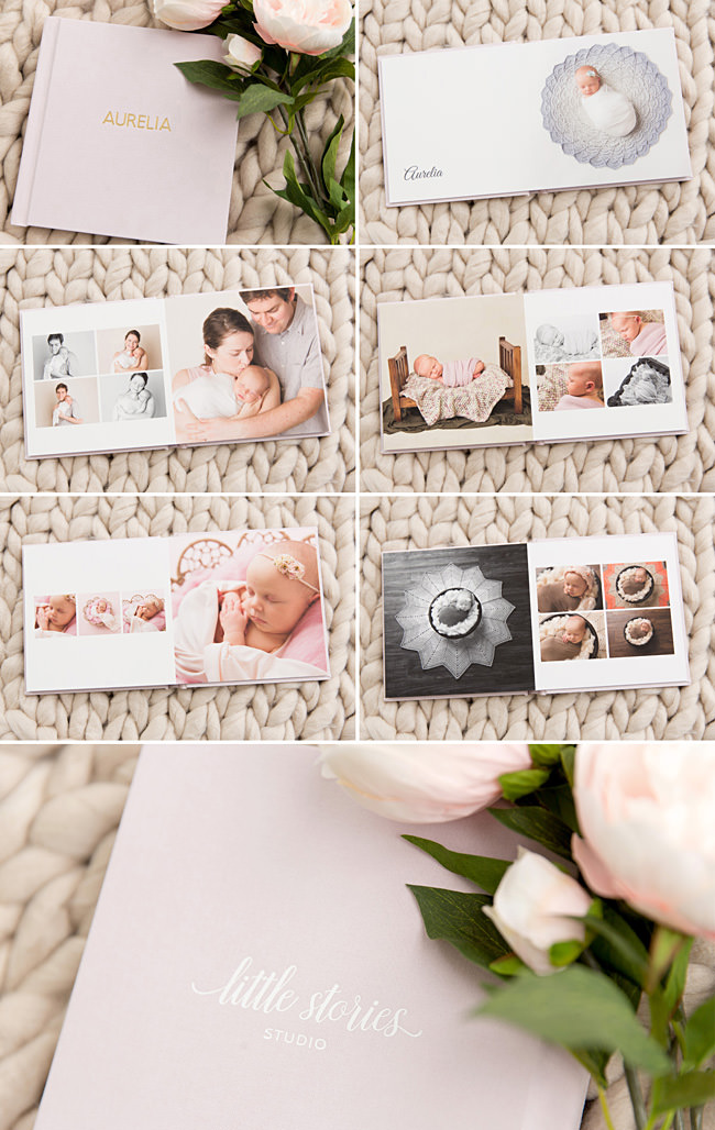 newborn family photos custom album fine art brisbane