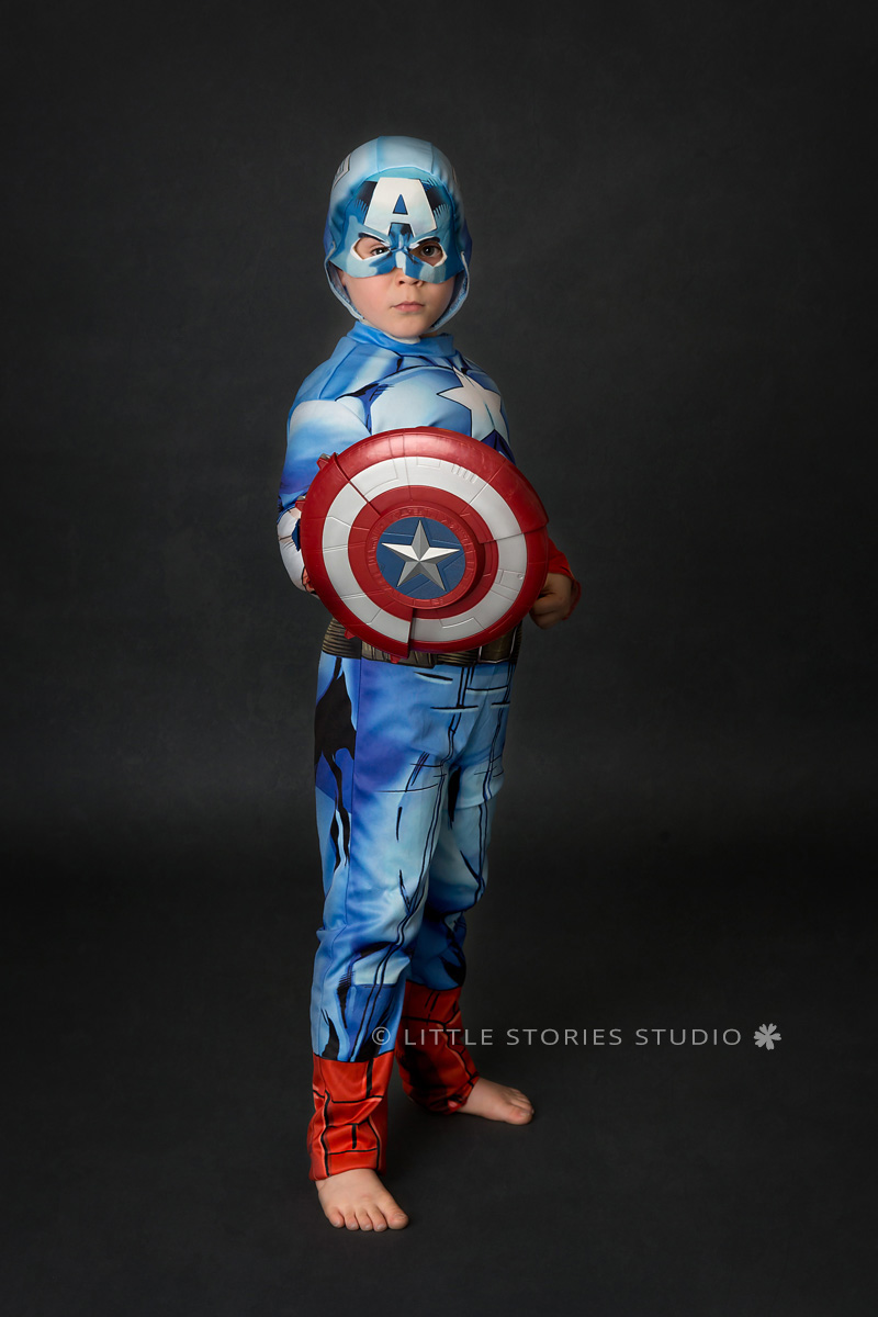 brisbane kids superhero photos captain america