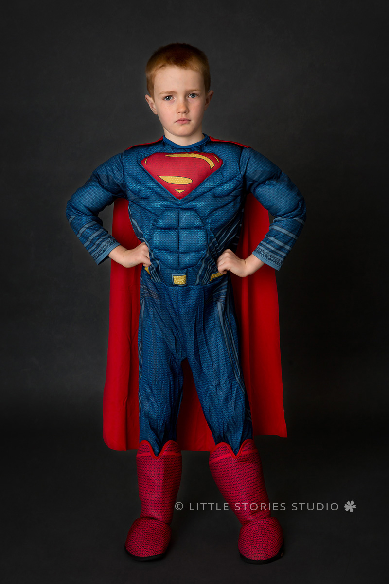 brisbane kids superhero photos superman