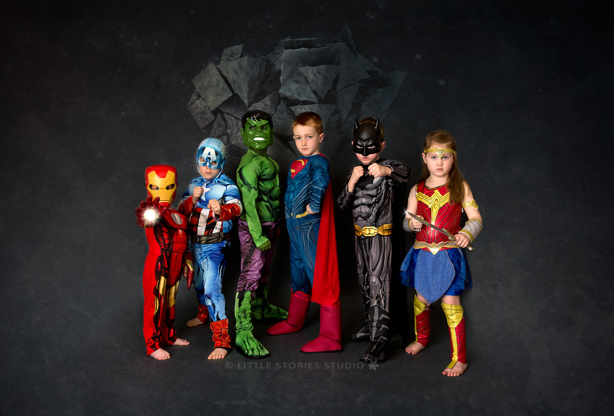 brisbane kids superhero photos