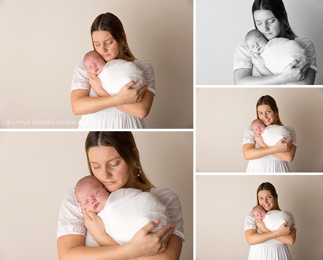 beautiful newborn photos in Brisbane for first time mums