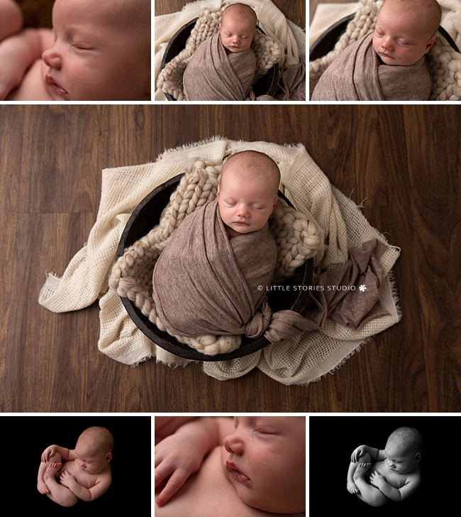 neutral brown tone newborn photos brisbane southside