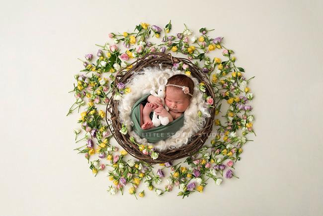 baby girl newborn photos