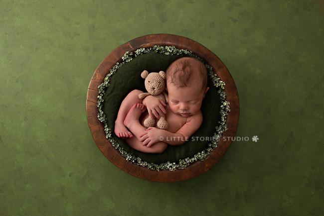 digital background newborn composite