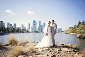Kangaroo Point River Wedding