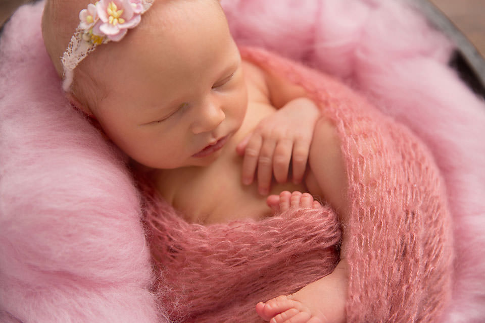 Brisbane Newborn Photography pink